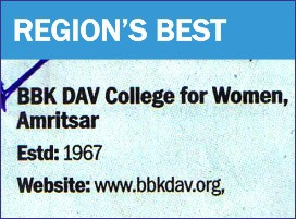 BBK DAV College for Women, Amritsar