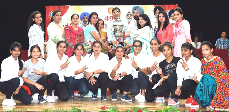 Sports Achievements Bbk Dav College For Women Amritsar