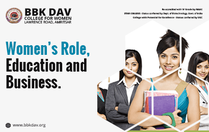 Women's Role, Education and Business