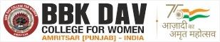BBK DAV College for Women, Amritsar